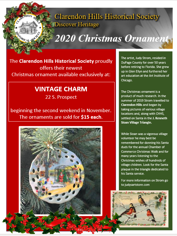 2020 Christmas Events Dupage County Il Clarendon Hills Historical Society at Heritage Hall | Discover