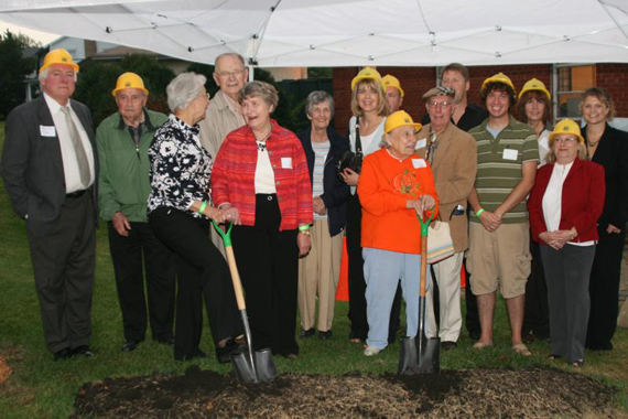 Heritage Hall Groundbreaking