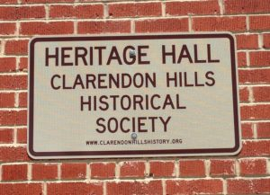 Heritage Hall sign